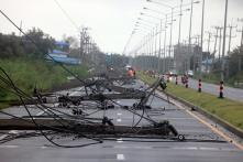 In Pictures: Tropical Storm Pabuk's Horrific Aftermath in Thailand