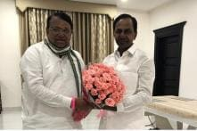 Senior TRS Leader Pocharam Srinivas Reddy Unanimously Elected as Speaker of Telangana Assembly