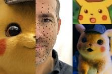 Ryan Reynolds Shares BTS Pics from Detective Pikachu and the Internet Can't Keep Calm