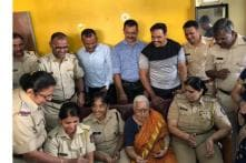 Mumbai Police Celebrates the Birthday of a 85-Year-Old Woman Who Lives Alone