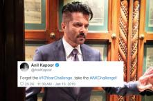 Anil Kapoor Adds His Own Twist To The #10YearChallenge, Calls It #AKChallenge