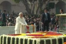 Nation Remembers Mahatma Gandhi on His 71st Death Anniversary, Kovind, Modi Pay Homage at Delhi's Rajghat