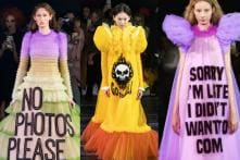 Viktor And Rolf's 2019 Spring Collection Made All Your Favorite Memes into Couture Dresses