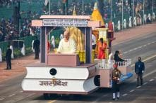 Republic Day Parade 2019 Rehearsals: Gandhi-Themed Tableaux on Display