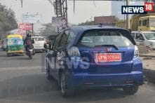 Exclusive - Electric Honda Jazz Spotted Testing Completely Undisguised