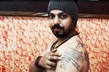 Indian Man Gets Names of Over 500 Fallen Soldiers Inked on His Body