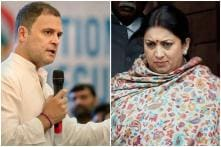 Rahul Gandhi, Smriti Irani to Land in Lucknow 20 Minutes Apart Before Face-off in Amethi Today