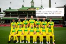 Australia Dons Retro Jerseys in First ODI Against India and Cricket Fans are Feeling Nostalgic