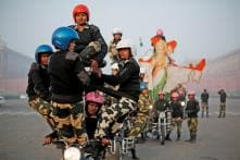 Stuntwoman's Bike Crashes Into Children at Gujarat R-Day Parade, 7 Injured