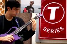 This YouTuber Flew Down From Hong Kong to Play PewDiePie's Diss Track Outside T-Series HQ in Noida
