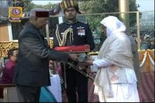 Widow, Mother of Militant-Turned-Soldier Nazir Wani Receive Ashok Chakra at R-Day Parade