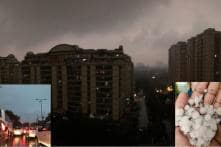 Raincoat or Sweater? Delhi Rain Leave People Confused as Heavy Downpour Continues in NCR