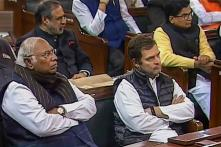 Rahul Makes His Front Row Appearance in Parliament Central Hall as President Addresses Both Houses