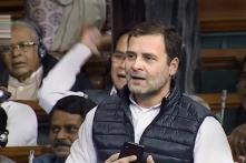 Rahul Gandhi Brings the House Down With Parrikar Tape on 'Kaali Dal' Rafale