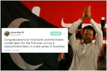 Imran Khan is Getting a Lot of Love on Twitter for Congratulating India's Test Series Win in Australia
