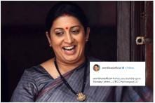 'It's Back': Keep Calm and Read Smriti Irani's New Monday Motivation Post on Instagram