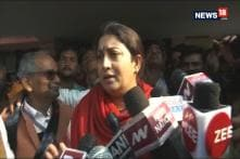 After Dousing Fire in Farm Field, Smriti Irani Asks Why Was Rahul Missing From Amethi