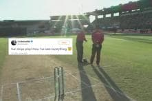 Sun Stops Play During India's 1st ODI Against Kiwis and Cricket Fans are Rubbing Their Eyes