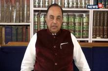 Subramanian Swamy Comments On The Ongoing Ram Mandir Issue