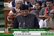 Budget 2019: Finance Minister Piyush Goel's speech
