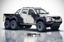 Tata Harrier Based 6x6 Xenon Pickup Truck Is India's Answer to Mercedes G-Wagon