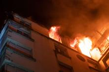 Fire Breaks Out in 10-storeyed Delhi Residential Building; 100 People Rescued