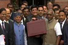 Budget 2019: Piyush Goyal Leaves for Parliament With Budget Briefcase