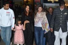 Abhishek Bachchan Celebrates 43rd Birthday With Family