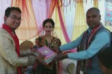 In This Assam Wedding, Guests Brought Old Clothes and Books for the Newlyweds. Here's Why