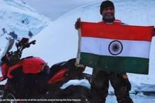 Bajaj Dominar Becomes First Indian Motorcycle to Reach Antarctica