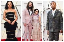 Oscars 2019: Jason Mamoa, Pharrell Williams & Tessa Thompson Honour Late Karl Lagerfeld