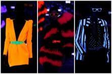 Saint Laurent's Neon Finale Turns Paris Fashion Week Runway into Glowing Discotheque