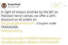 Indian Companies Tried to Profit Off the Air Strike and People Are Not Happy