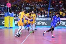Chennai Spartans Beat Calicut Heroes in Pro Volleyball League Final