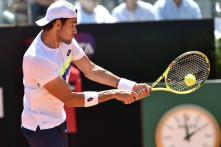 Davis Cup: Berrettini Defeats Prajnesh, Italy Take 2-0 Lead