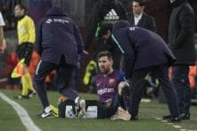 Messi Doesn't Practice Ahead of 'Clasico' Because of Injury