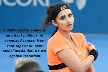 'Why Not Mention Pakistan?' Sania Mirza Trolled Over Tweet Condemning Pulwama Attack