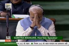 May You Become PM Again, Mulayam Tells Modi in Lok Sabha. PM Responds With Folded Hands