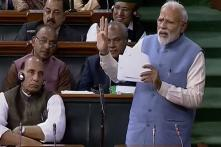 In Last Speech to LS Before Polls, PM Modi Singles Out Rahul's 'Earthquake' Jab and 'Hug' For Special Mention