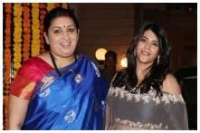 Ekta Kapoor Shares Special Moment of 'Maasi' Smriti Irani With Her Baby Boy at Naamkaran Ceremony