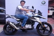 Sourav Ganguly Buys BMW G 310 GS Worth Rs 3.49 Lakh - See Pics