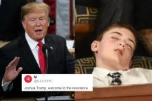 Trump Invited Bullied Boy With Same Last Name to His Annual Speech. He Slept Through it.