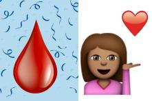 We Finally Got The Period Emoji We Have Been Waiting For. Of Course, it's Red.