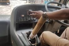 Mumbai School Bus Driver Held for Using Bamboo Stick Instead of Gear Lever, Says 'No Time to Fix it'