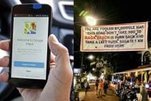 A Banner in Goa is Advising Tourists to Not Follow Google Maps