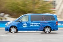 Experiencing the Car of the Future - Autonomous Robo-Taxi Powered by ZF