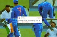 Dhoni's Gesture After Fan Breaches Security With India Flag Will Make You Proud