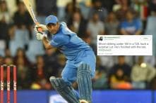 'Dhoni Please Retire': MSD Faces Heat on Twitter After Slow Knock in 1st T20I Against Australia