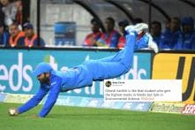 Twitter Responds to Dinesh Karthik's Sensational Catch in First T20 With Memes