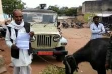 Unable to Pay Bribe to Tehsildar, MP Farmer Ties Buffalo to Officer's Vehicle